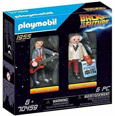 Playmobil 70459 Back To The Future Marty Mcfly Dr. Emmett Brown • 8.58£