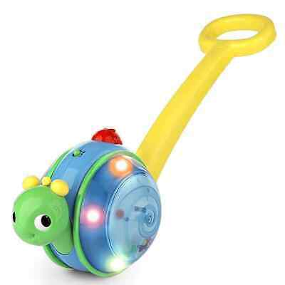 Bright Starts Roll & Glow Snail Colourful Sense Stimulation Music Light Toy • 30£