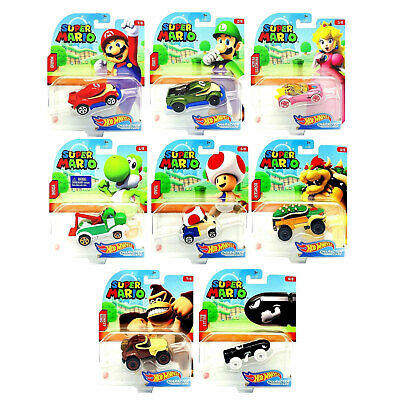 Hot Wheels Super Mario Character Cars *Choose Your Favourite* • 5.99£
