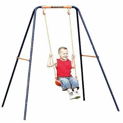 Hedstrom CHILDS KIDS SINGLE METAL GARDEN OUTDOOR SWING BRAND NEW BOXED • 49.99£
