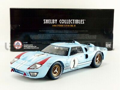 SHELBY COLLECTIBLES 404 411 415 417 Or 423 FORD GT40 MK2 4 Race Car Le Mans 1:18 • 82.99£