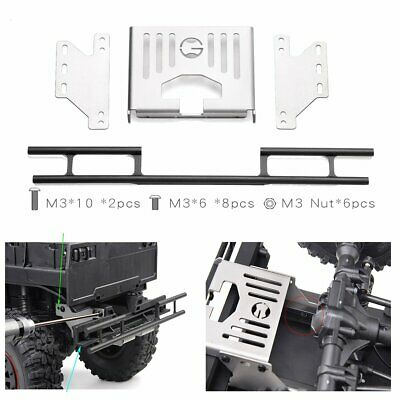 Metal Rear Anti-collision Bumper With Back Plate For GRC TRX4/6 G63 G500 G145VD • 24.06£