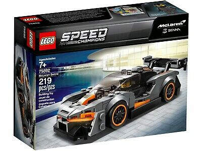 LEGO 75892 Speed Champions McLaren Senna Model Racing Toy Car Kids Building  • 19.90£