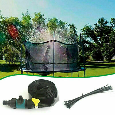 Trampoline Sprinkler Spray Water Garden Kids Water Park Summer Outdoor Game 8-15 • 10.99£