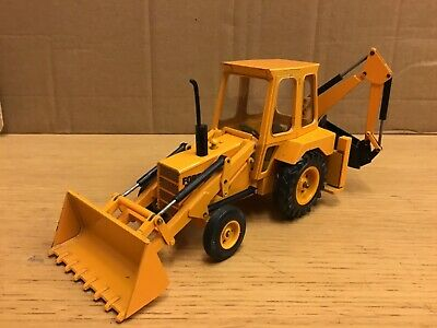 1/32 Scale Ford 550 Backhoe Loader Tractor By NZG No 161 Boxed 1970's • 130£