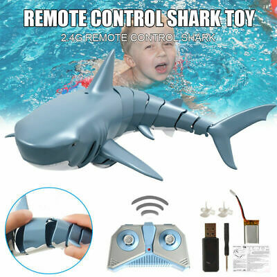 Mini Remote Control Toy Electric RC Shark For Kids Gift 2.4GHz 4 Way Operation • 17.77£