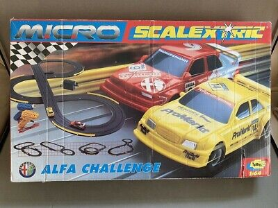 Vintage Hornby Micro Scalextric Alpha Challange Boxed • 18£