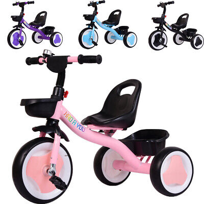 Baby Kids Trike Tricycle Boys & Girls 3 Wheels Toddlers Ride On Car Best Gift • 27.99£