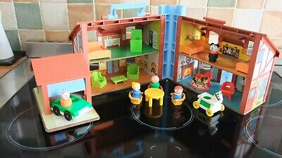 Vintage Fisher Price Tudor House, Complete And In Vgc • 36£