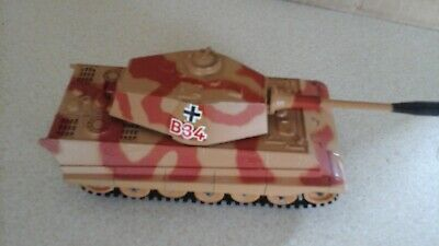 CORGI TOYS KING TIGER German Heavy Tank, Unboxed, Great Condition • 7£