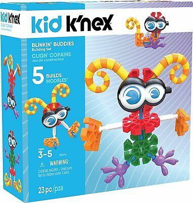 Kid K'NEX Blinkin' Buddies Building Set For Ages 3 And Up • 17.58£