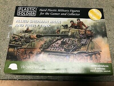 Allied Sherman M4A4 And Firefly Tank • 6.70£