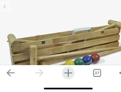 Bex Sport Pro Croquet Set  In A Wooden Box New • 120£
