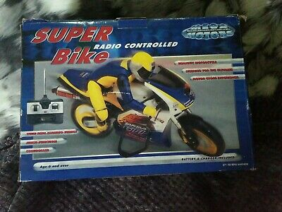 R/C Super BIke Radio Controlled With Charger  Battery Pack • 12.99£