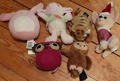 Small Animal Soft Toys Bundle -  6 In Total.  • 4.50£