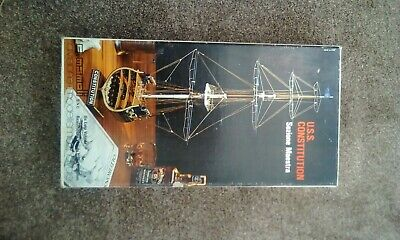 Mamoli 1/93 USS Constitution Sectional Plank On Frame Model • 65£