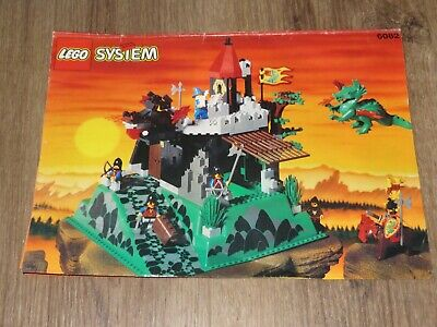 Lego 6082 Fire Breathing Fortress - Instruction Manual Only (instructions) • 9.99£