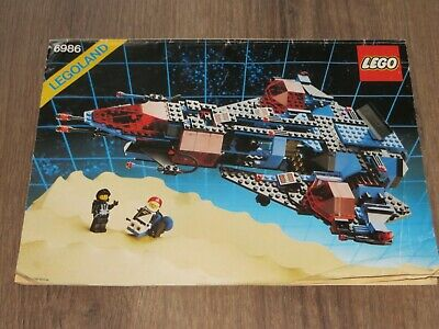 Lego 6986 Mission Commander - Instruction Manual Only (instructions) • 8.99£