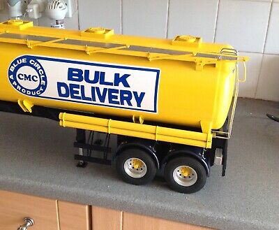 Lesu 1/14 RC Trucks,tanker Trailer Portland Cement • 640£