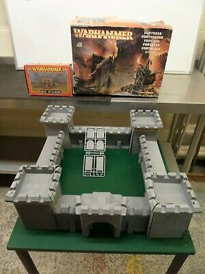 Warhammer Fortress Castle & Siege Attackers. Rare And Boxed.r13 • 49.99£