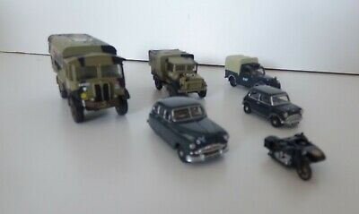 Oxford Diecast 1/76 Various Military Models.(6) Used But In Good Condition • 8£