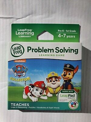 NEW   LeapFrog Paw Patrol Learning Game - Problem Solving    • 12.99£