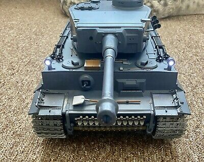 Heng Long 1/16 R/C Tiger 1 With Metal Gears. Tracks & Fast Turret • 100£