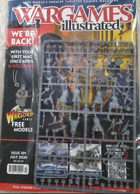 Wargames Illustrated - Issue 391 July 2020 With Sprue  • 5.25£