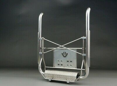 SCALE Stainless Steel Euro Truck Twin Exhaust For 1/14 Tamiya Scania R620 R470 • 95.98£