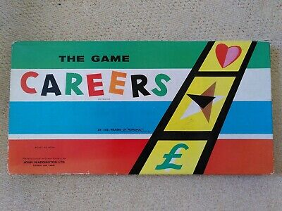 Waddington's  Careers  Board Game 1957 Complete And In Good Condition • 4.99£