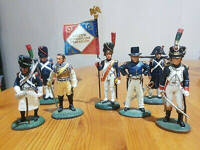 Del Prado Toy Soldier  Selection Of Various French Soldiers  • 0.30£