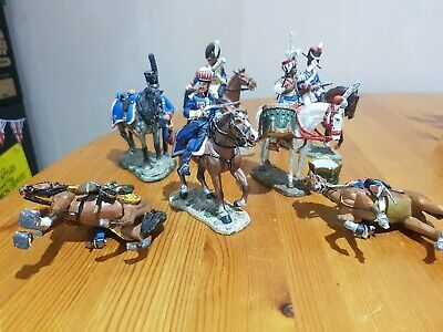 Del Prado Toy Soldier  Selection Of 7 Various Soldiers  - As Found • 1.20£