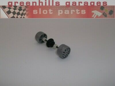 Greenhills Scalextric Vauxhall / Opel Calibra Silver Rear Axle & Wheels - Use... • 3.99£