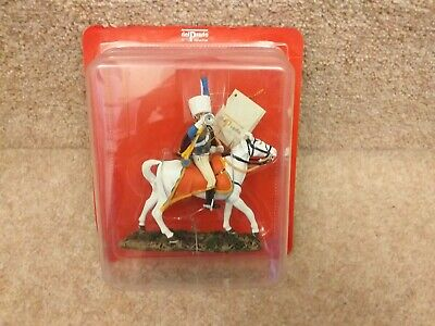 Del  Prado French NAPOLEONIC Chasseurs Of The Guard Trumpeter 117 • 15£