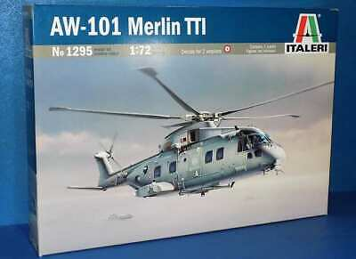 Italeri 1/72 1295 Agusta Westland AW-101 Merlin TTI - Model Kit • 18.89£