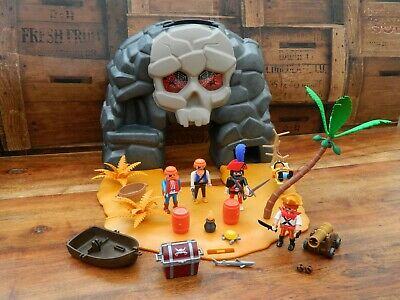 Playmobil 5804 Take Along Pirate Skull Island Play Set + Accessories • 23.95£