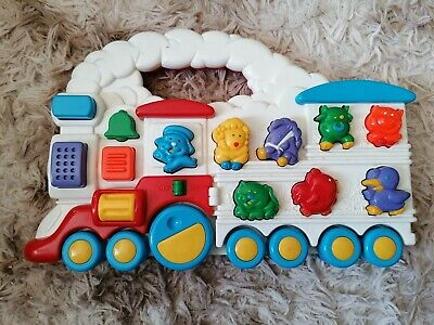 Vintage Chicco Electronic Toy Train With Sounds • 6.99£