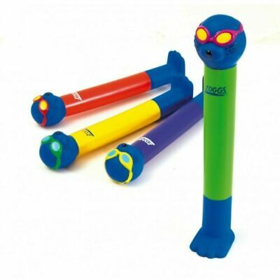 ZOGGS Zoggy Dive Sticks Diving Swimming Pool Sea Bath Training Aid 4 Set Kids 3+ • 12.95£
