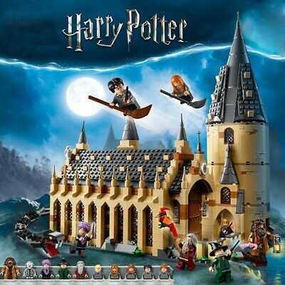 Magic World Knight Castle Building Blocks Model Magic Great Hall Bricks Kids'Toy • 26.59£