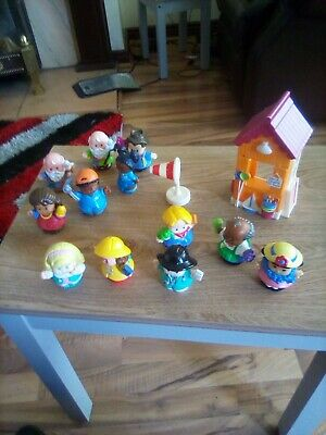 Fisher Price Little People/happyland Figures X 12 • 5.99£