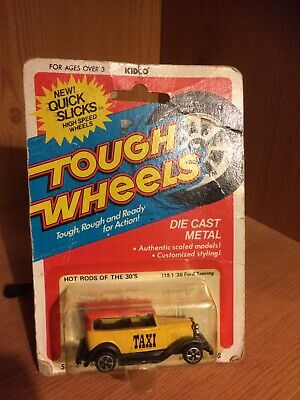 Kidco Tough Wheels '30 Ford Touring Taxi. Mint In Sealed Card. • 1£