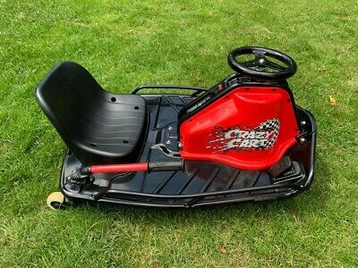 Razor Crazy Cart - 24V Electric Drifting Go Kart Ride On. Excellent Condition • 55£