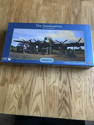 """Gibsons Jigsaw Puzzle New """"The Dambusters"""" • 3£"""