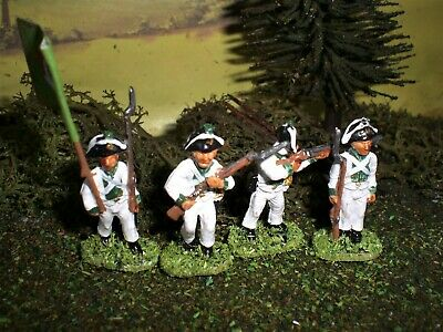 Painted Saxon Light Infantry.  Scale 1:72. • 9.99£