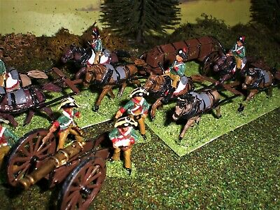 Painted Saxon Foot Artillery.  Scale 1:72. • 9.99£