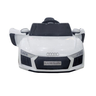 Kids 12v Ride On Car Licensed Audi Style Electric Childrens Remote Control Toy • 99.05£