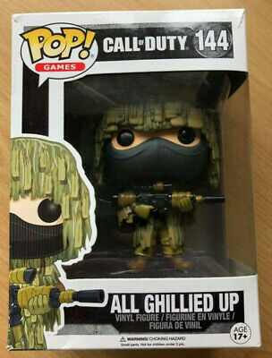 Funko Pop! Games: Call Of Duty - All Ghillied Up #144  Vinyl Figure *RARE* • 21£