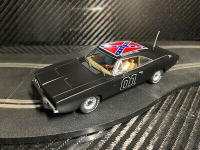 Pioneer Slot Car Unboxed General Lee Dodge Charger - Compatible Scalextric Dpr • 0.99£