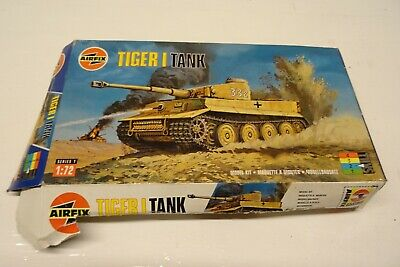 Airfix 1/72 Scale Tiger 1 Tank - Unmade Model Kit. • 9.99£