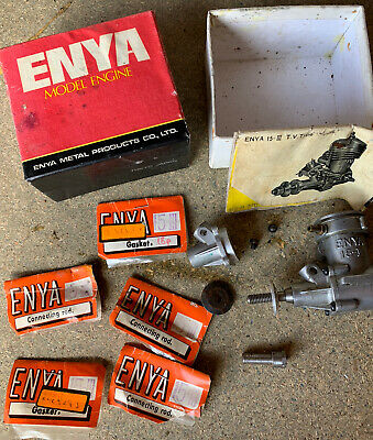 Enya 15 Model Engine Spares New Old Stock & Used • 15£